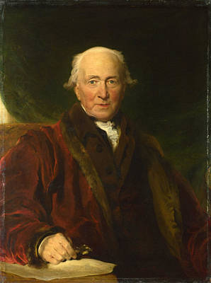Thomas Lawrence Painting - John Julius Angerstein Aged Over 80 by Thomas Lawrence