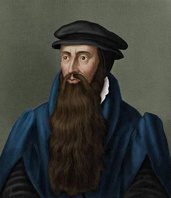 Engraving Photograph - John Knox by Maria Platt-evans