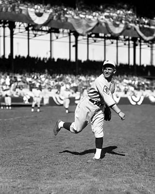 Philadelphia Phillies Stadium Photograph - John L. Johnny Mokan by Retro Images Archive