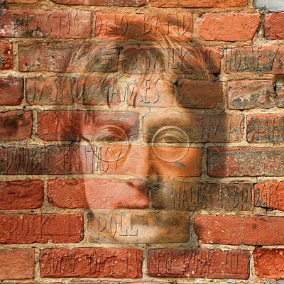 John Lennon 2 Print by Andrew Fare