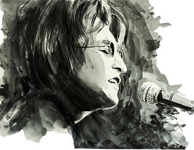 John Lennon 2 Print by Bekim Art