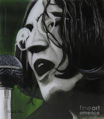 Scouse Painting - John Lennon by Betta Artusi