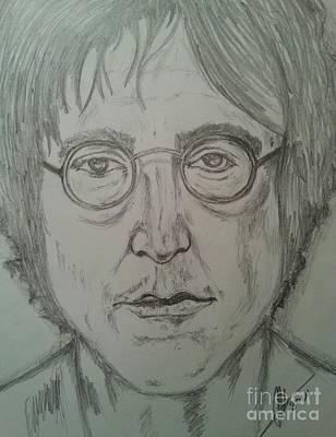 John Lennon Art Drawing - John Lennon by Collin A Clarke