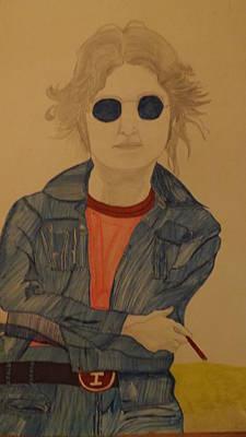 John Lennon Print by Don Koester