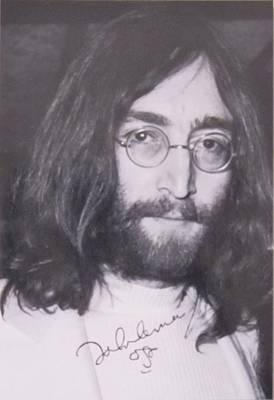 John Lennon Print by Donna Wilson