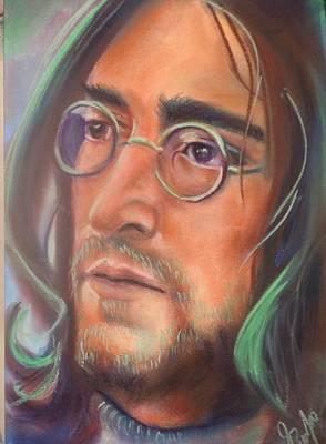 John Lennon Print by Mark Anthony