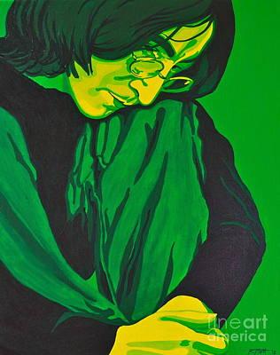 Beatles Painting - John Lennon by Rebecca Mott