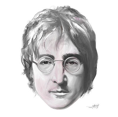 John Lennon Original by Ruben Furio