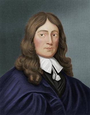 John Milton Print by Maria Platt-evans