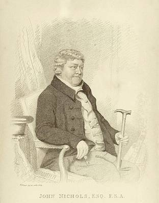 John Nichols Print by Middle Temple Library