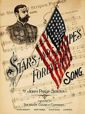 John Philip Sousa 1 Print by Andrew Fare