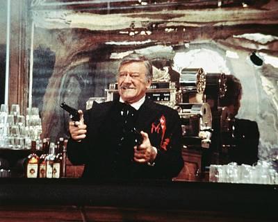 John Wayne Photograph - John Wayne In The Shootist by Silver Screen