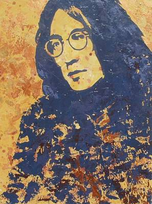 Johnlennon Painting - John Winston Lennon by David Shannon