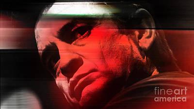 Johnny Cash Mixed Media - Johnny Cash by Marvin Blaine