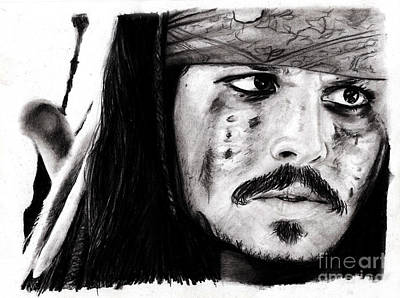 Johnny Depp 3 Original by Rosalinda Markle