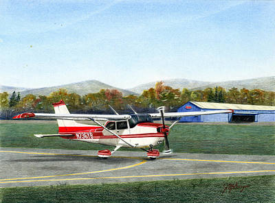 John's Plane Original by Joseph Burger