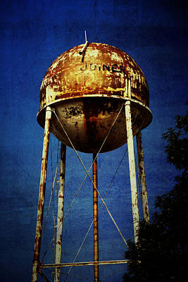 Joiner Water Tower Print by KayeCee Spain