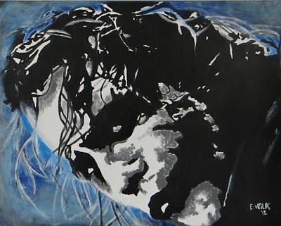 Heath Ledger Painting - Joker Popart by Esteban Vera