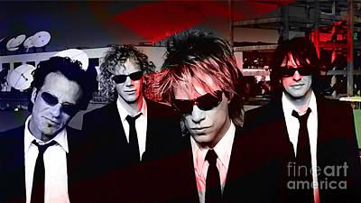 Jon Bon Jovi Mixed Media - Jon Bon Jovi  by Marvin Blaine