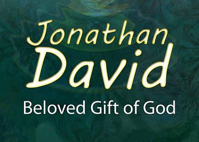 Jonathan David - Beloved Gift Of God Print by Christopher Gaston