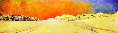 Rabat Painting - Jordan 06 by Catf