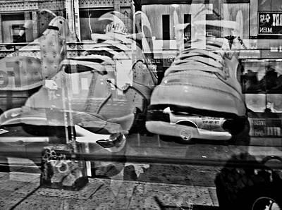 Sneakers Mixed Media - Jordan Fantasy by Genna Steele