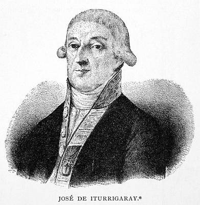 Jose De Iturrigaray (c1760-1815) Print by Granger