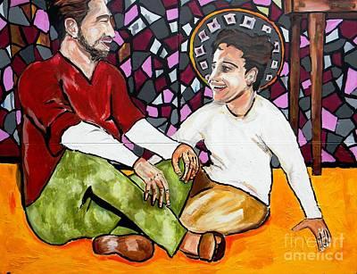 Joseph And Son Original by Patrick Ficklin