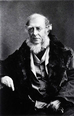 Taxonomy Photograph - Joseph Hooker by National Library Of Medicine
