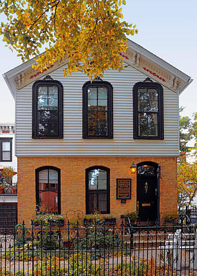 Inventions Photograph - Joseph J O'connell House Chicago by Christine Till