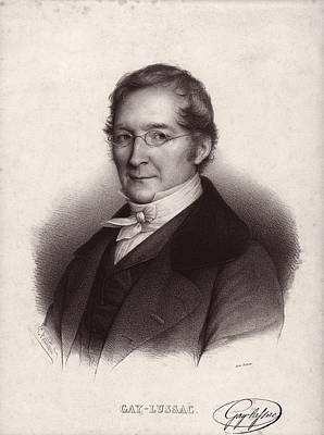Joseph Louis Gay-lussac, French Chemist Print by Science Photo Library