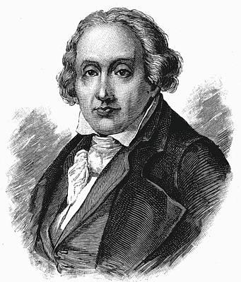Joseph Marie Jacquard Print by Universal History Archive/uig