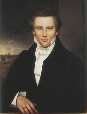 Joseph Smith. Copy After Adrian Lamb Print by Everett