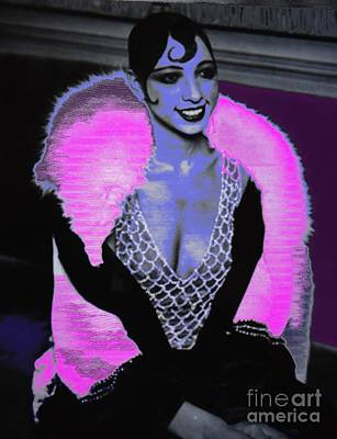 Liberation Digital Art - Josephine Baker The Original Flapper by Saundra Myles