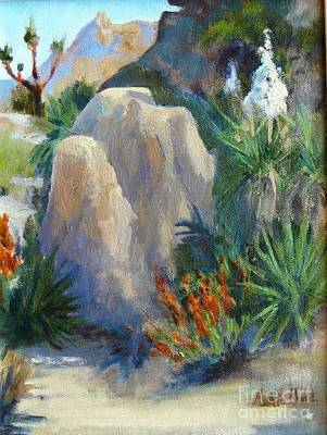 Agave In Bloom Original by Maria Hunt