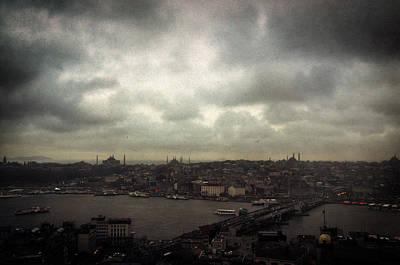 jour de pluie a Istanbul I Print by Taylan Soyturk