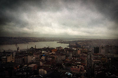 Galata Photograph - jour de pluie a Istanbul III by Taylan Soyturk