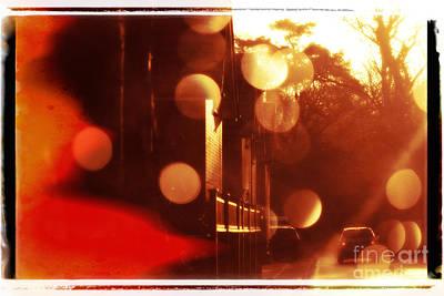 Travelling Art Digital Art - Journey And Sunshine - Natalie Kinnear Photography - Print And C by Natalie Kinnear