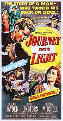 Sterling Hayden Photograph - Journey Into Light, Us Poster Art by Everett