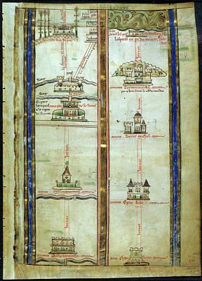 Journey To Jerusalem Print by British Library