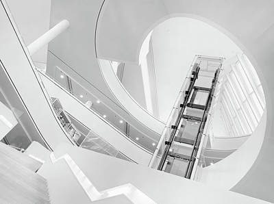 Journey To The Light Print by Jeroen Van De