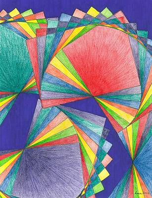 Inktense Drawing - Joy by Lesa Weller