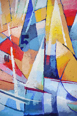 Artistic Painting - Joy Of Life by Lutz Baar