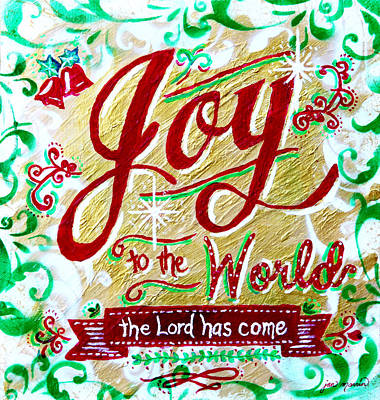 Joy To The World Print by Jan Marvin