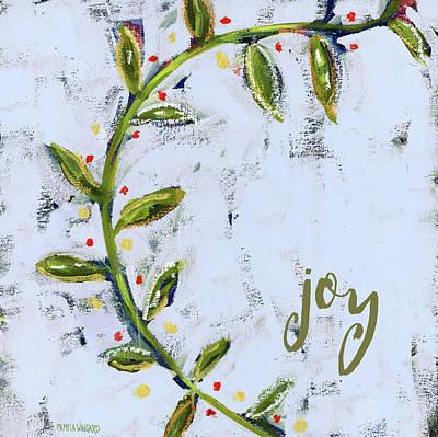 Vines Painting - Joy Vines by Pamela J. Wingard
