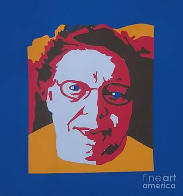 Prime Mixed Media - Joyce's Portrait by PainterArtist FINs husband Maestro