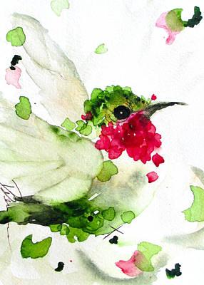 Joyful Flight Print by Dawn Derman