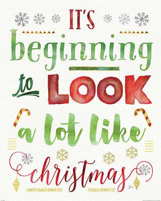 Joyful Wishes I Print by Jess Aiken