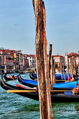 Venecia Photograph - Joyride-venice Italy by Tom Prendergast