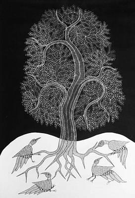 Japani Shyam Painting - Js 109 by Japani Shyam